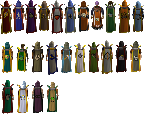 All skillcapes