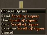 Scroll of Rigour