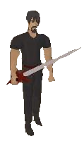 Anger sword Equipped