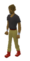 Dragon boots equipped
