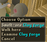 Clay forge