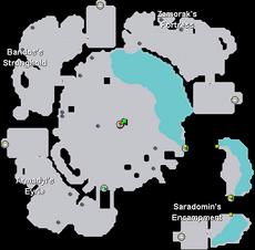 God Wars Dungeon Map