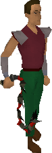 Abyssal whip equipped modern