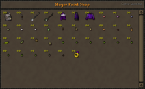 Old slayer reward shop