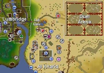 Duel arena location