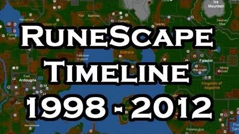 RuneScape Historical Timeline 1998 - 2012
