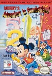 Mickey's Adventures in Numberland Cover