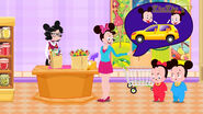 Mickey Mouse and Minnie Mouse Funny Story Series Sound Ideas, VOICE, CARTOON - FAST FEMALE TELEPHONE GIBBERISH, VOCAL,