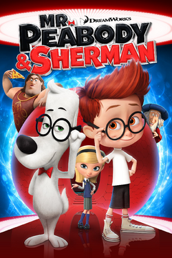 Mr peabody and sherman poster