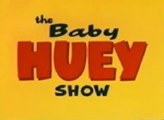The baby huey show title card