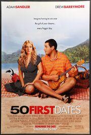 50 First Dates 2004 original film art 2000x