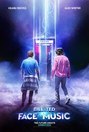 Bill & Ted Face the Music 2020 Movie Poster