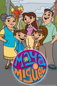 Maya & Miguel Poster
