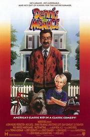 Dennis the menace 1993 movie poster