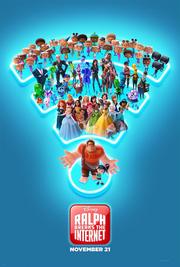 Ralph Breaks the Internet (2018 film poster)