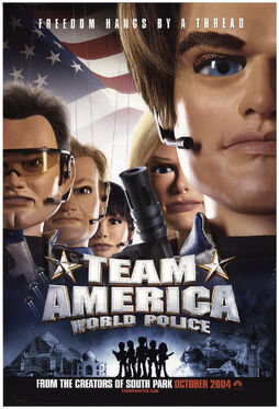 Team America World Police (2004) Poster