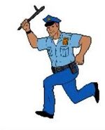 Spider-man cartoon maker - police officer