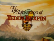 The adventures of teddy ruxpin title