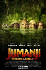 Jumaji Welcome to the Jungle Poster