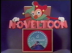 Noveltoon title card