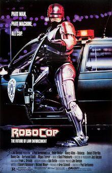 RoboCop (1987) theatrical poster