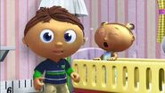 HUMAN, BABY - CRYING Super Why6