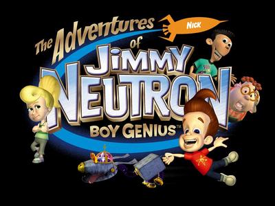 Jimmy neutron boy genius tv series logo