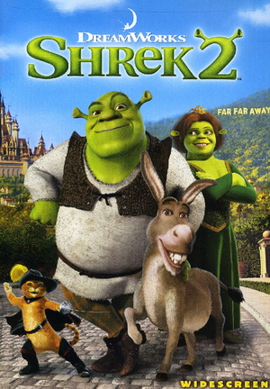 Shrek 2 DVD Cover