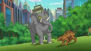 DC Super Hero Girls (Shorts) Sound Ideas, ELEPHANT - ELEPHANT TRUMPETING, THREE TIMES, ANIMAL, (1)