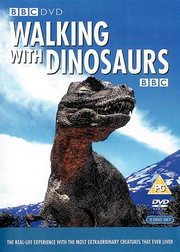 Walking with Dinosaurs UK DVD Cover