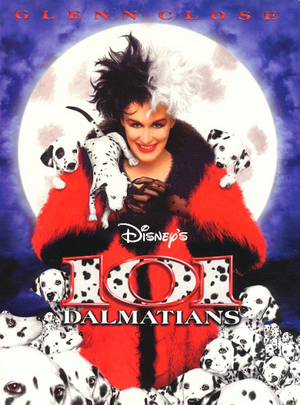 101 Dalmatians 1996 Poster