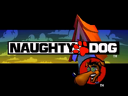 Crash Bandicoot Naughty Dog Logo Hollywoodedge, Dog Golden Lab Bark AT021501