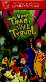 Have Time Will Travel VHS Cover