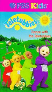 Teletubbies Dance with the Teletubbies VHS Cover
