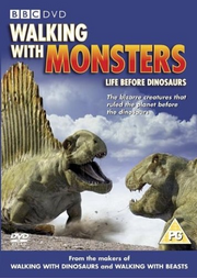 Walking with Monsters UK DVD Cover