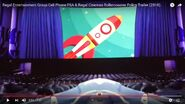 Regal Entertainment Group Cell Phone PSA and Regal Cinemas Rollercoaster Policy Trailer (2018) Sound Ideas, AIRPLANE, JET - MILITARY FIGHTER JET PASS BY 02
