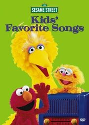 Sesame Street Kids' Favorite Songs Cover