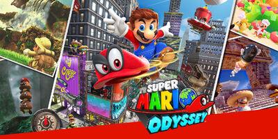 Super Mario Oddysey Cover