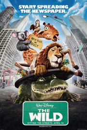 The Wild 2006 poster
