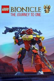 Lego Bionicle The Journey to One Poster