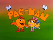 Pac-Man animated series title