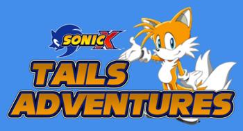 Sonic X Tails Adventures Logo