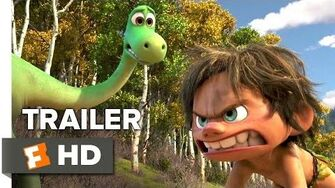 The Good Dinosaur Official Trailer 2 (2015) - Raymond Ochoa, Jeffrey Wright Animated Movie HD