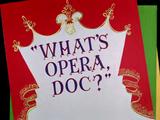 What's Opera, Doc? (1957 Short)