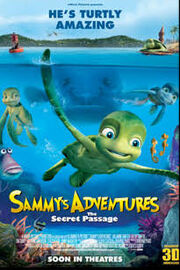 A Turtle's Tale Sammy's Adventures Poster