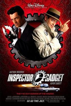 Inspector gadget movie poster