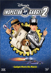 Inspector gadget 2 dvd cover