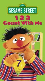 123 Count with Me VHS Cover