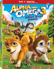 Alpha and omega 3 the great wolf games dvd cover