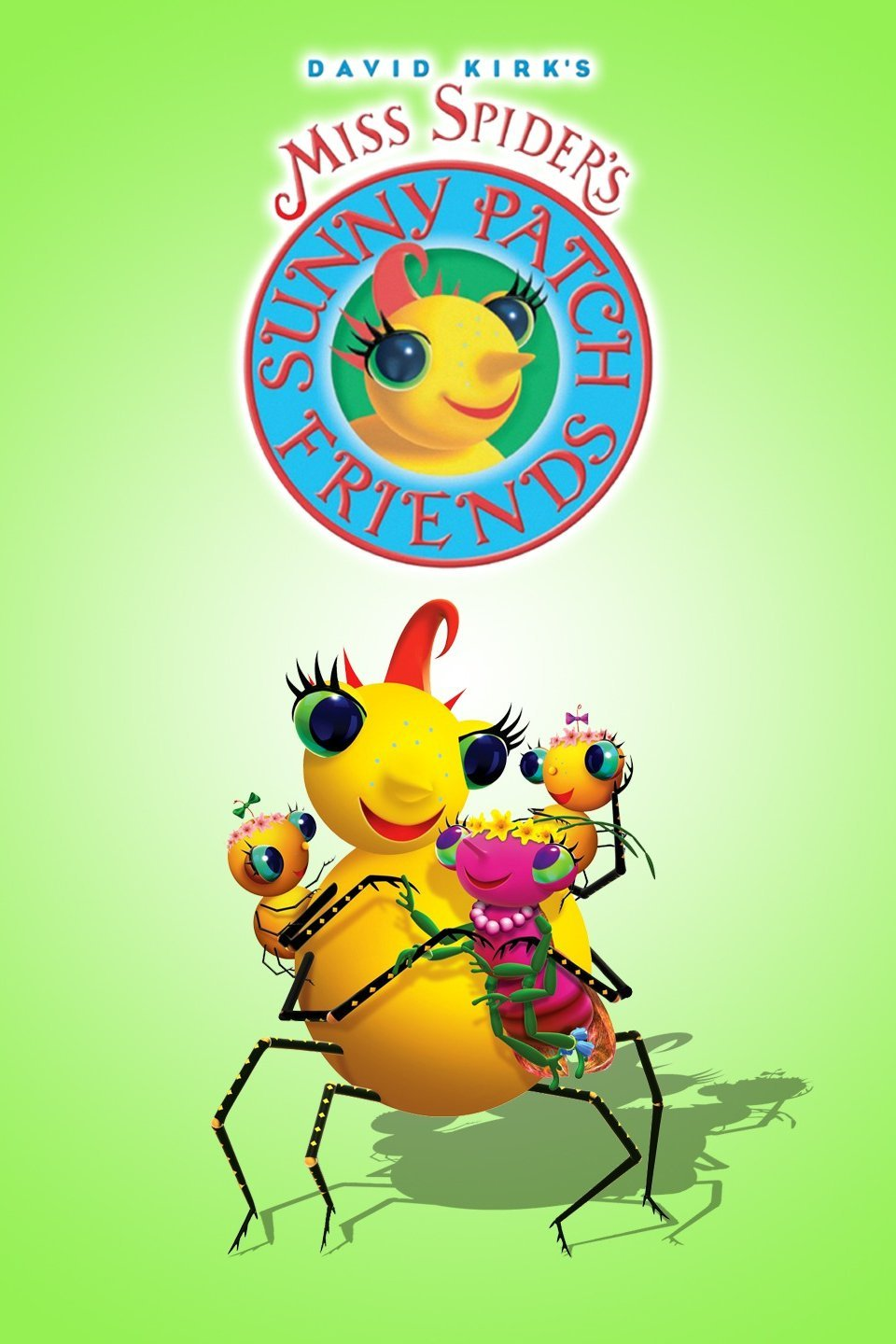 Qubo show miss spider's sunny patch friends.